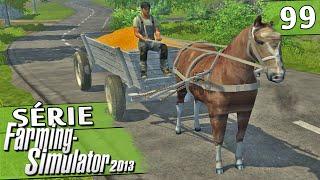 Farming Simulator 2013 - Cavalo na Fazenda