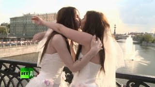 getlinkyoutube.com-A transgender wedding with two brides. TransReality Ep 6