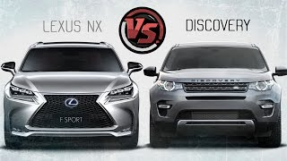 getlinkyoutube.com-2hp:  Lexus NX VS Land Rover Discovery Sport