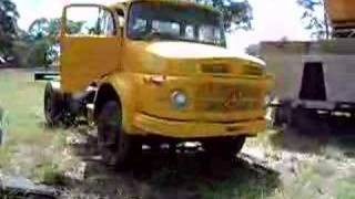 getlinkyoutube.com-Mercedes 1924 Truck Test Drive Part 2