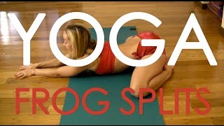 getlinkyoutube.com-Yoga Frog Splits with Kino MacGregor