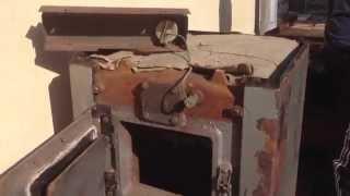 getlinkyoutube.com-Твердопаливний  котел КЧММ-4 Рівне ч 1. Зовнішній вигляд та будова