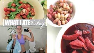 getlinkyoutube.com-What I Ate Today (Vegan) + I Like Cooked Food