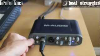 getlinkyoutube.com-Audio Interface Review - M-Audio Fast Track Pro Video Review (@Beatstruggles)