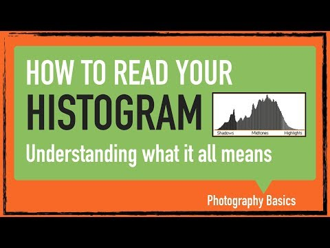 Histogram in digital photography. A graph of your picture brightness.