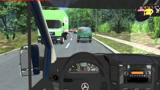 getlinkyoutube.com-OMSI Gameplay Video im Mercedes-Benz Sprinter 313CDI