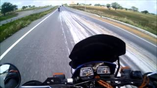 getlinkyoutube.com-A Falcon do Capeta dando pau em XT600E.