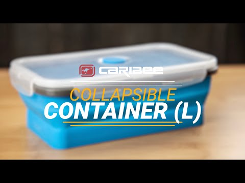 Caribee Collapsible Container 1.25L - Blue
