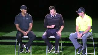 watch rory and tiger talk about nike and the new irons
