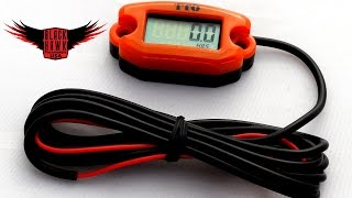 getlinkyoutube.com-Paramotor Tips & Tricks - How to Install a Tachometer on Your Powered Paraglider