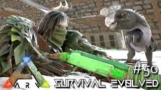 getlinkyoutube.com-ARK: Survival Evolved - TAMING OVIRAPTOR BABY & GHILLIE SUIT [Ep 50] (Server Gameplay)