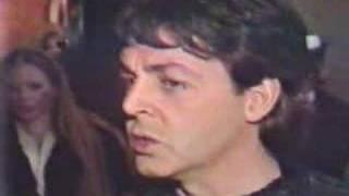 getlinkyoutube.com-Paul McCartney reaction to news of John Lennon Death