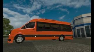 getlinkyoutube.com-[ETS2]Euro Truck Simulator 2 Volkswagen Crafter 2.5 TDI