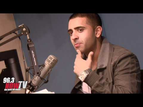 Jay Sean at 96.3 NOW Studios