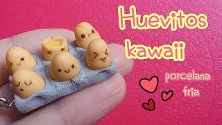 getlinkyoutube.com-Cartón de huevitos kawaii PORCELANA FRIA