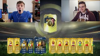 SO MANY BLUES IN 30 x 100K PACKS!! - FIFA 15 1v1 GAME