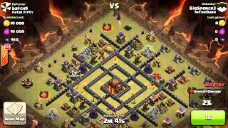 Clash of Clans - 16 Valkyrie & 8 Pekka Three Stars attacks