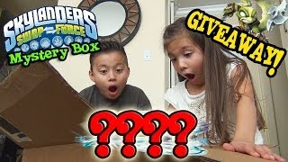 getlinkyoutube.com-Skylanders Swap Force MYSTERY BOX from Activision, UNBOXING & GIVEAWAY!!!  WAVE 4???
