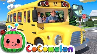 Wheels on the Bus | Cocomelon (ABCkidTV) Nursery Rhymes & Kids Songs width=