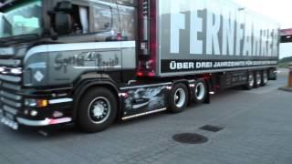 getlinkyoutube.com-2x SCANIA V8 Breizh Thermo !! (Rieper Transporte Buxtehude) + INTERIOR/V8 SOUND [HD]