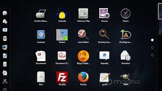 getlinkyoutube.com-Mageia 5 Beta3 GNOME Desktop 64 bit  Install and review