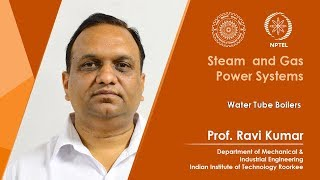 Lecture 08: Water Tube Boilers