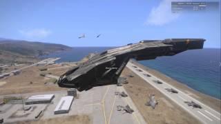 getlinkyoutube.com-EPIC ARMA- Halo Evacuation