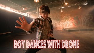 getlinkyoutube.com-Boy Dances With Drone - Bloodstream @edsheeran