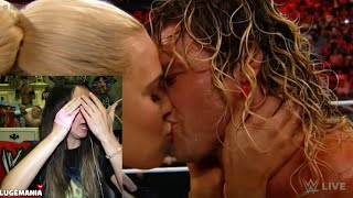 getlinkyoutube.com-WWE Raw 5/18/15 Lana KISSES Dolph Ziggler