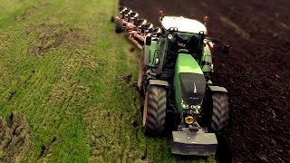 getlinkyoutube.com-[GoPro] Fendt 936 Vario with 8-furrow Kverneland PL 100