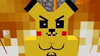 getlinkyoutube.com-Monster School : Mob vs Pikachu Pokemon GO Full Version - Minecraft Animation