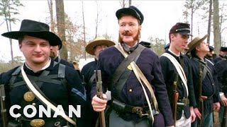 getlinkyoutube.com-Conan Becomes A Civil War Reenactor - CONAN on TBS