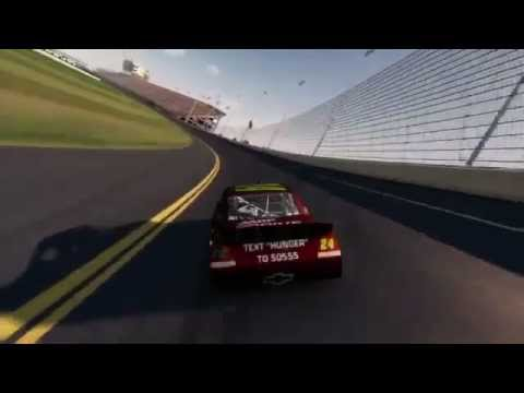 NASCAR The Game 2012 Daytona Footage with Jeff Gordon