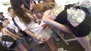 getlinkyoutube.com-馬來西亞刺青女神 KinKI Ryusaki 粉絲合影會(1080p)@2014 第五屆 台灣國際紋身藝術展[無限HD]