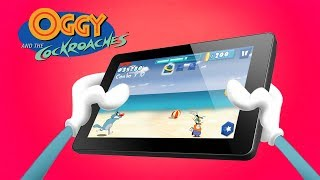 Oggy and the Cockroaches - 📱OGGY RUNNER GAME 📱- Launch Trailer 💙 width=