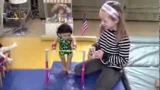 getlinkyoutube.com-American Girl Gymnastics Meet Part 1 Bars and Vault