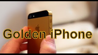 getlinkyoutube.com-PAINTING AN IPHONE GOLDEN!