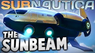 getlinkyoutube.com-Subnautica - SUNBEAM RESCUE SHIP IN GAME! (Subnautica Early Access Gameplay)