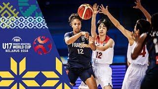 LIVE 🔴- Japan v France - FIBA U17 Women's Basketball World Cup 2018