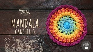getlinkyoutube.com-Tutorial Mandala Ganchillo | Crochet