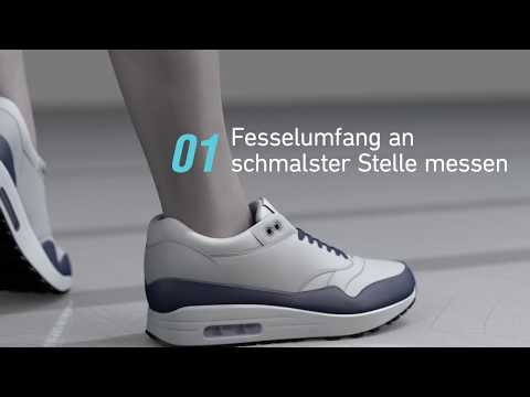 Bauerfeind Bandage Sports Ankle Support - So misst du dein Sprunggelenk richtig