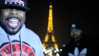 Joell Ortiz & Crooked I Freestyle in Paris