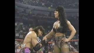 getlinkyoutube.com-Eddie w/Chyna vs Jericho