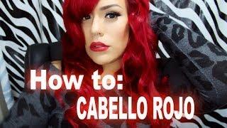 getlinkyoutube.com-Cabello Rojo Sin Decolorar! | LoLo Love