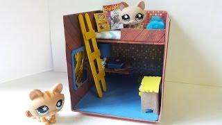 getlinkyoutube.com-How to Make a Cute LPS Bedroom for Boy or Girl: Dollhouse DIY
