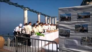 Capri -  Zeppolata  di San Giuseppe in piazza 2016 (Video)