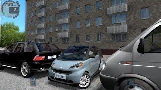 getlinkyoutube.com-City Car Driving 1.5.0 Smart ForTwo [Logitech G27]