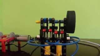 getlinkyoutube.com-LEGO pneumatic engine Boxer (2 cylinders) + compressor