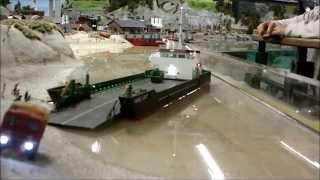 getlinkyoutube.com-Nordostseewoche 2014 - rc model ships cruising at Miniatur Wunderland Hamburg