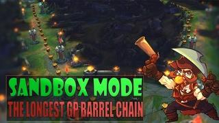 最長的剛普朗克火藥桶連環 (Sandbox mode)